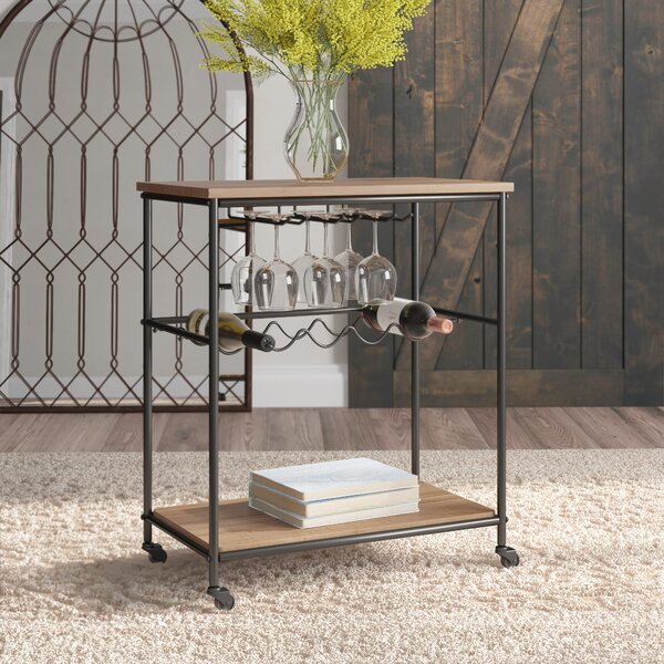Lenore Bar Cart by Gracie Oaks Gracie Oaks