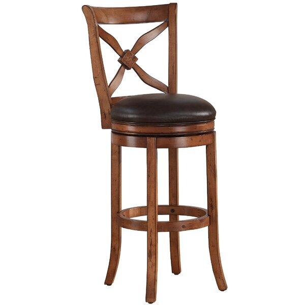 Brashears 26 Swivel Bar Stool by Darby Home Co