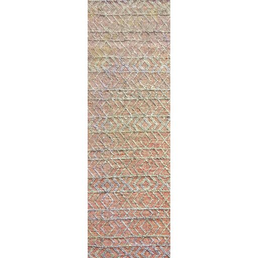 Between Hand-Woven Rust/Gray Area Rug by Bungalow Rose