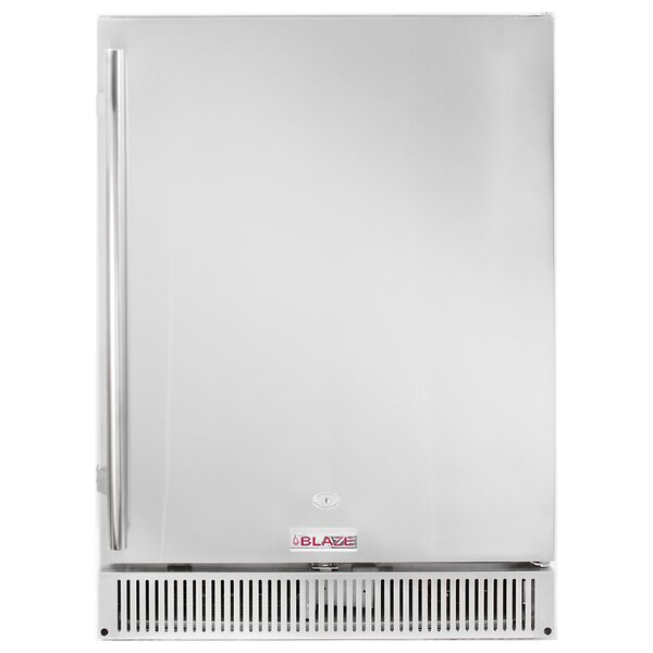 23.5-inch 5.2 cu. ft. Undercounter Compact Refrigerator with Freezer by Blaze Grills