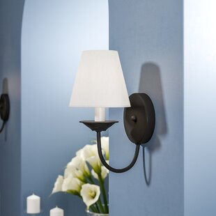 Great deal Whitaker 1-Light Wall Sconce By Andover Mills