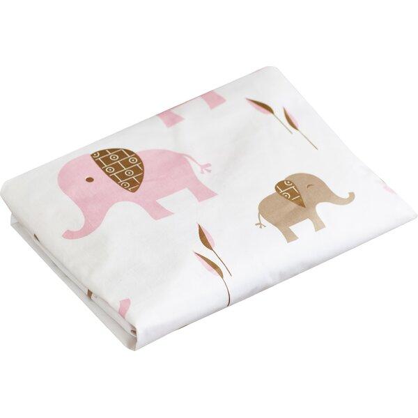 Elephant Fitted Crib Sheet by Sweet Jojo Designs