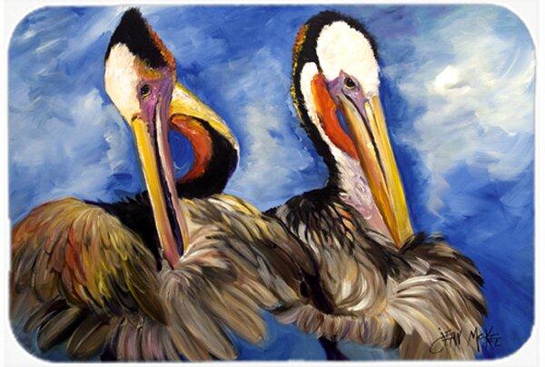 Pelican Brothers Rectangle Non-Slip Bath Rug