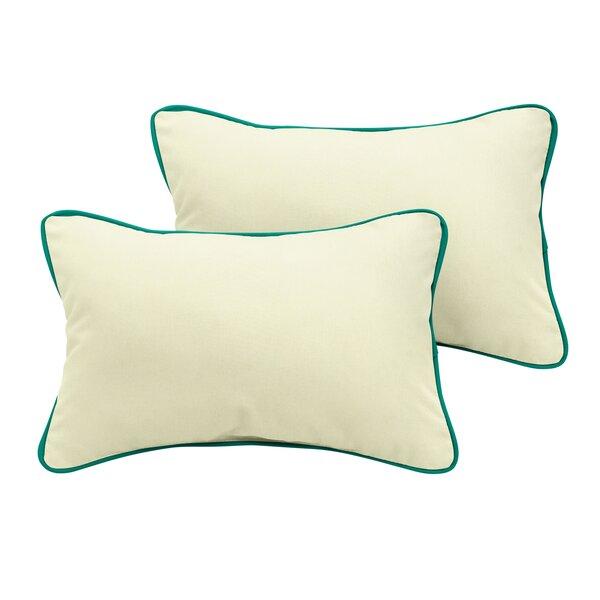Pecoraro Sunbrella Outdoor Lumbar Pillow (Set of 2) by Latitude Run