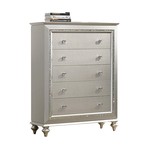 Echols 5 Drawer Chest By Mercer41 by Mercer41 Read Reviews