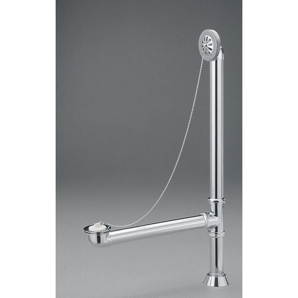 1.5 Grid Tub Drain With Overflow by Cheviot Products