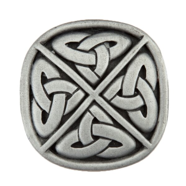 Celtic Square Knob by Acorn
