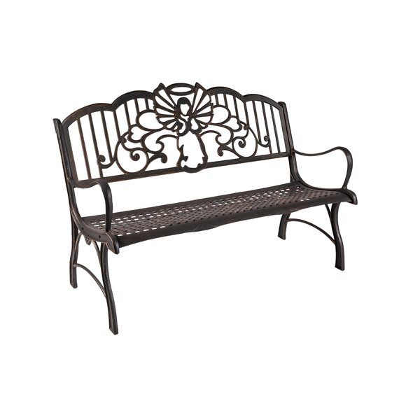 Yardley Angel Cast Iron Park Bench