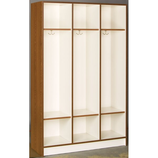 3 Section Coat Locker by Stevens ID Systems