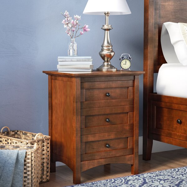 Calila 3 Drawer Nightstand by Birch Lane™