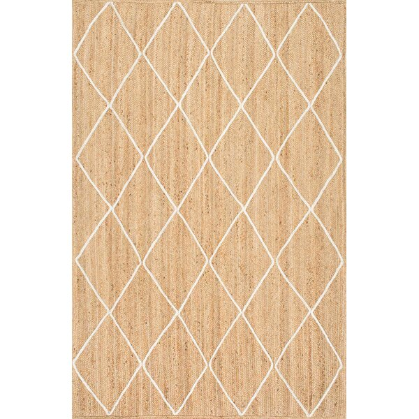 Quincy Hand-Woven Natural Area Rug by Mistana