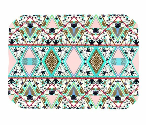Deco Hippie Placemat by KESS InHouse