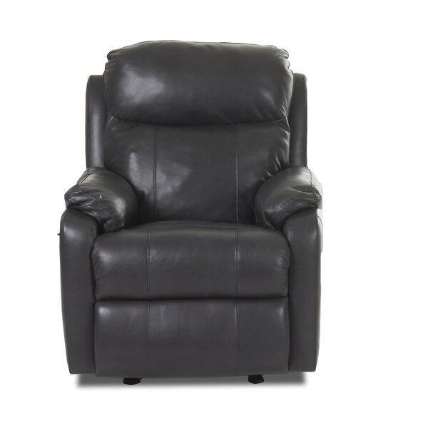 Torrance Foam Seat Cushion Recliner with Power Adjustable Headrest Red Barrel Studio RDBS8631