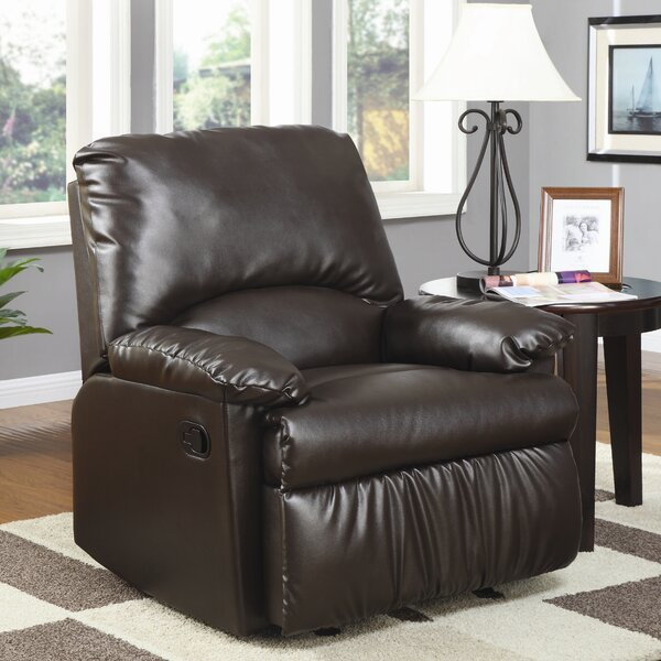 Pine Island Manual Glider Recliner By Wildon Home®