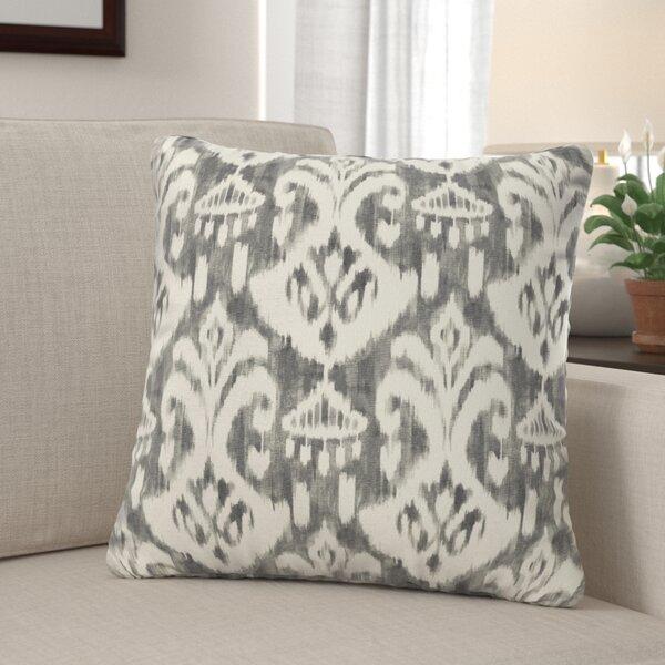 Peabody Ikat Indoor/Outdoor Throw Pillow (Set of 2) by Andover Mills