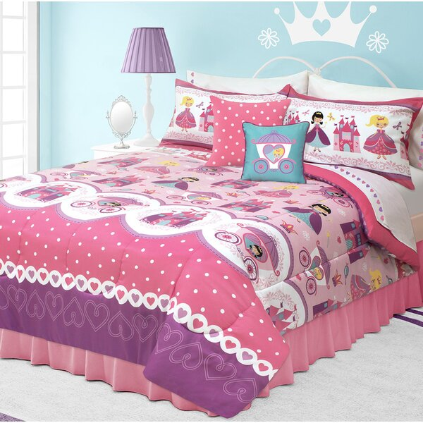Holliman Rosalie Comforter Set by Zoomie Kids