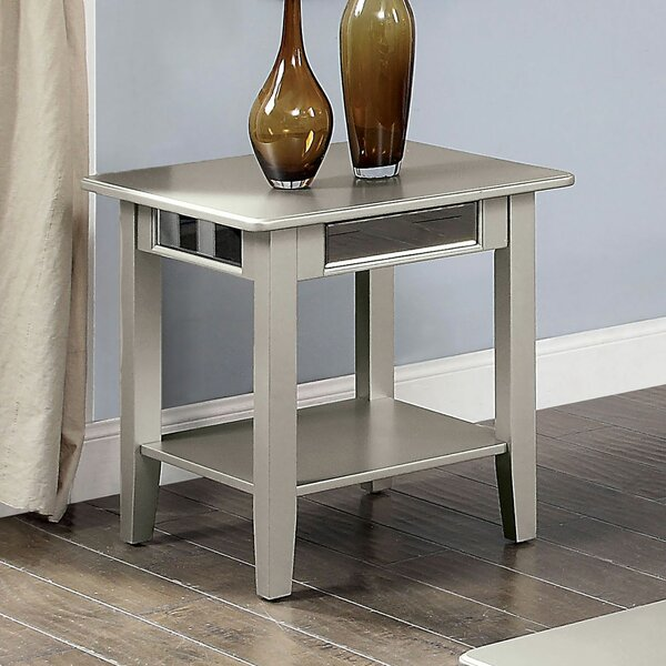 Odonnell End Table by Rosdorf Park Rosdorf Park