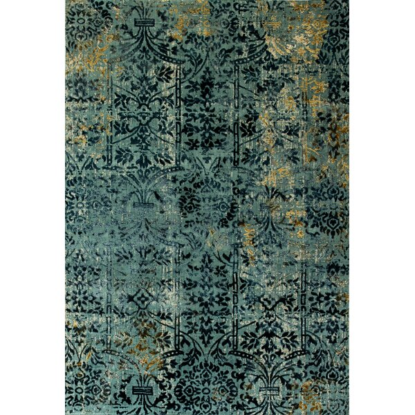 Irene Blue Area Rug by World Menagerie