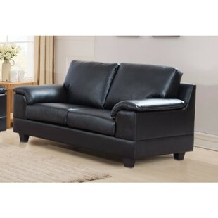Driggers Loveseat with Velvety Arm Rest
