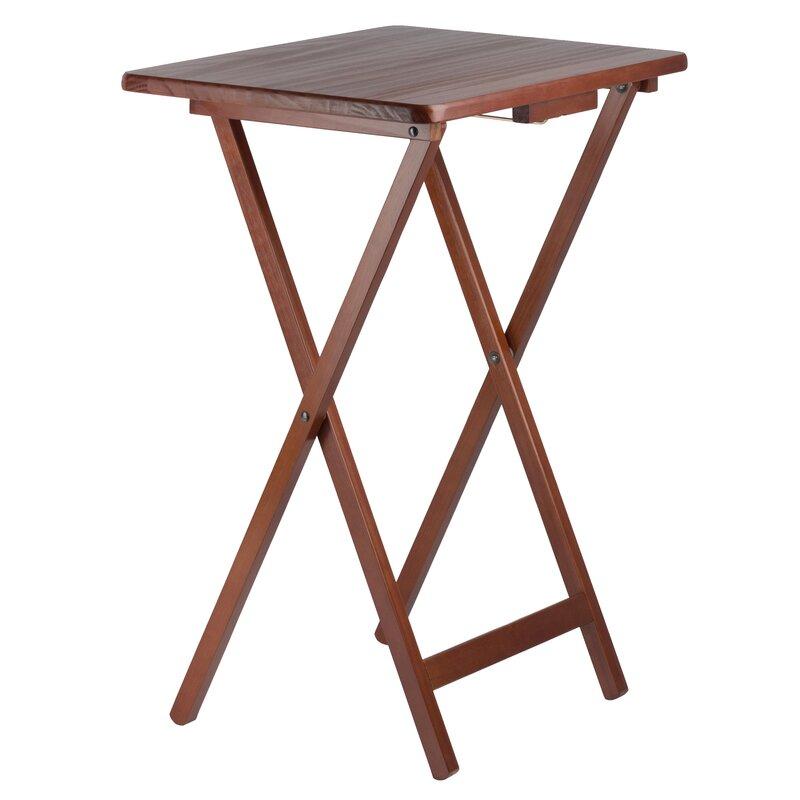 Jacobsen 5 Piece Tray Table Set  sc 1 st  Wayfair & Alcott Hill Jacobsen 5 Piece Tray Table Set   Wayfair