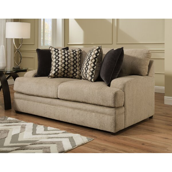 Best Reviews Of Simmons Upholstery Yovchev Loveseat by Latitude Run by Latitude Run