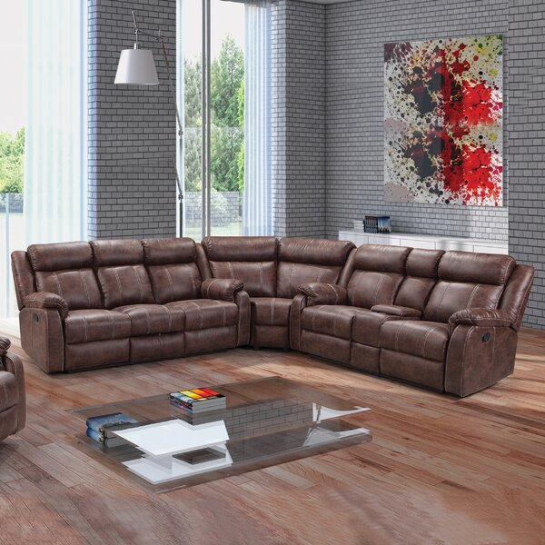 Sotomayor Right Hand Facing Reclining Sectional By Williston Forge 2019 Sale