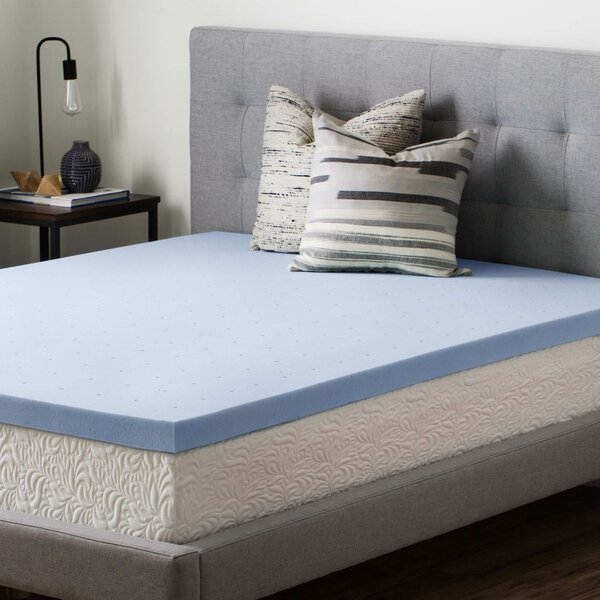 2.5 Gel Memory Foam Mattress Topper by Brookside