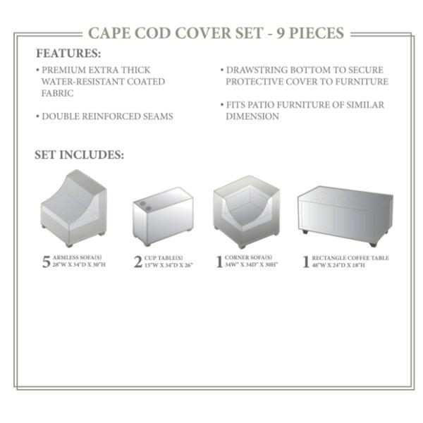 Cape Cod Winter 9 Piece Cover Set by TK Classics