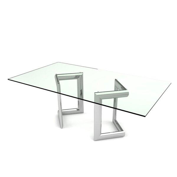 Freeman Rectangular Dining Table by Orren Ellis
