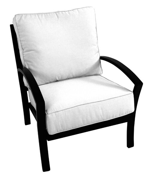 Maddux Deep Seating Chair with Cushion by Meadowcraft