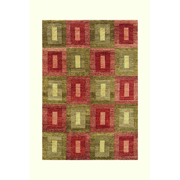 Legacy Green/Rust Rug by Noble House