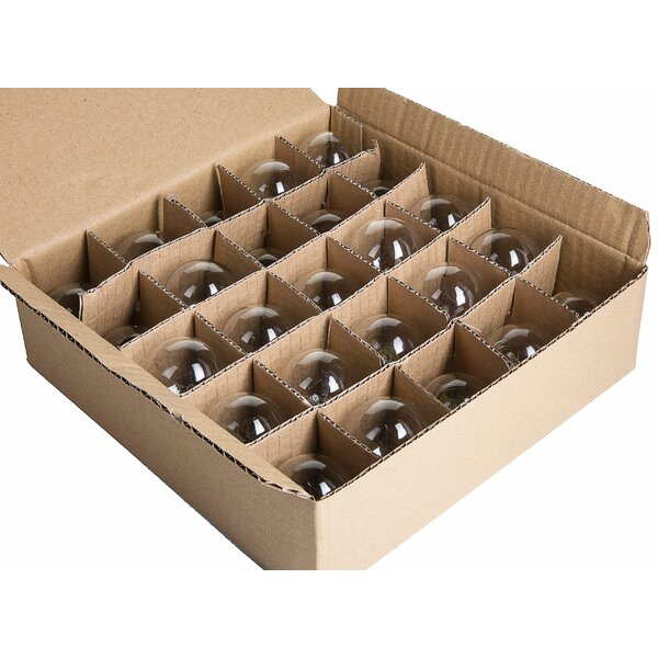 7W E12-Light Bulb (Pack of 25) (Set of 25) by Hometown Evolution, Inc.