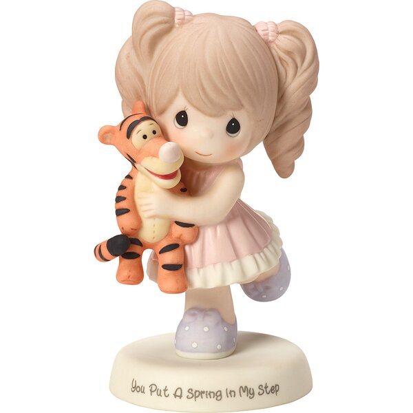 """You Put a Spring in My Step"" Figurine by Precious Moments"