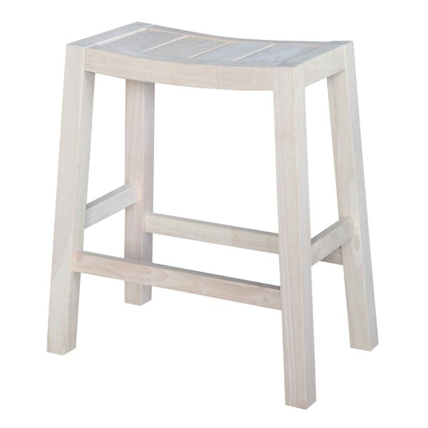 Laurier 24 Bar Stool by August Grove
