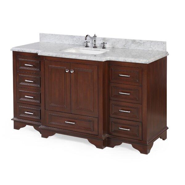 Nantucket 60 Single Bathroom Vanity Set by Kitchen Bath Collection