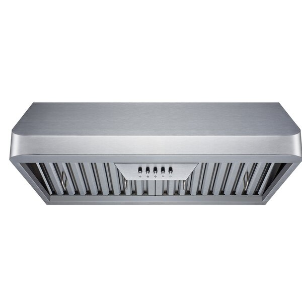 30 300 CFM Ducted Under Cabinet Range Hood by Winflo