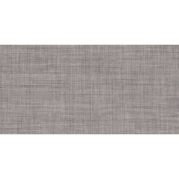 Linen 11 x 23 Porcelain Field Tile in Gray by Tesoro