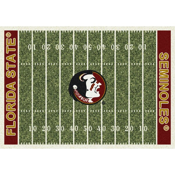 NCAA Home Field Novelty Rug by My Team by Milliken