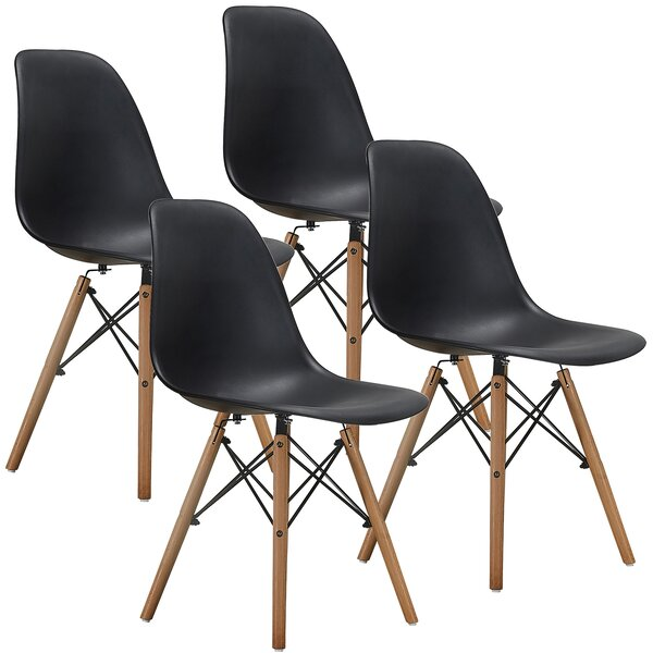 #1 Carita Dining Chair (Set Of 4) By Wrought Studio Spacial Price