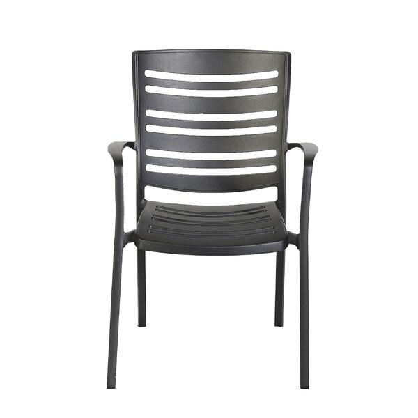 Townsey Stacking Patio Dining Chair (Set of 4)