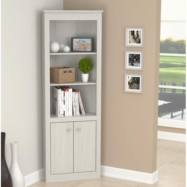 Alma Corner Bookcase By Ebern Designs