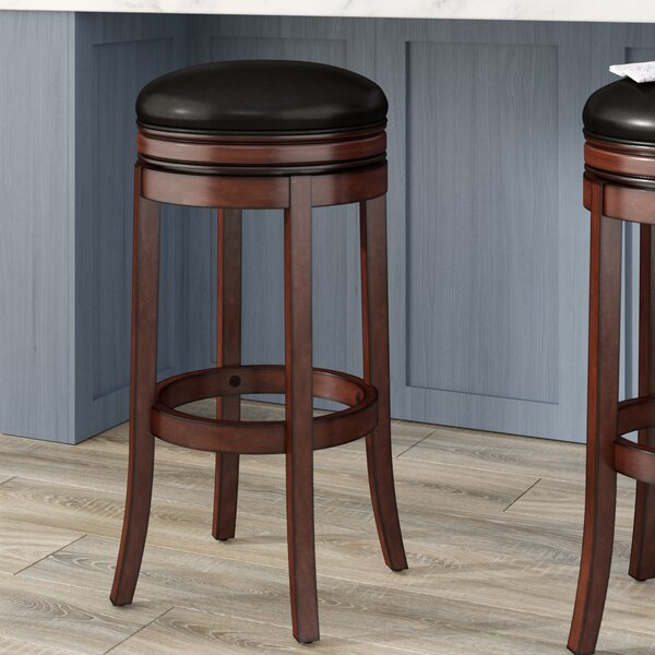 Mcmullin 34 Swivel Bar Stool by Darby Home Co