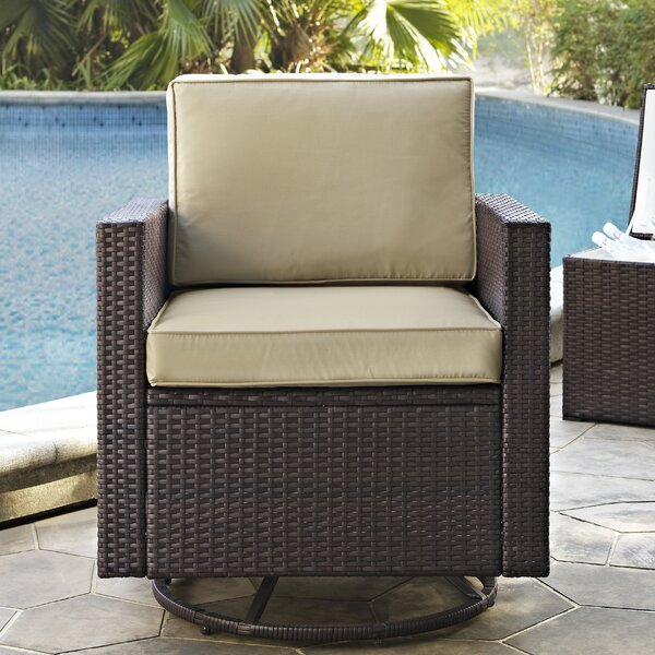 Belton Patio Chair with Cushion by Mercury Row