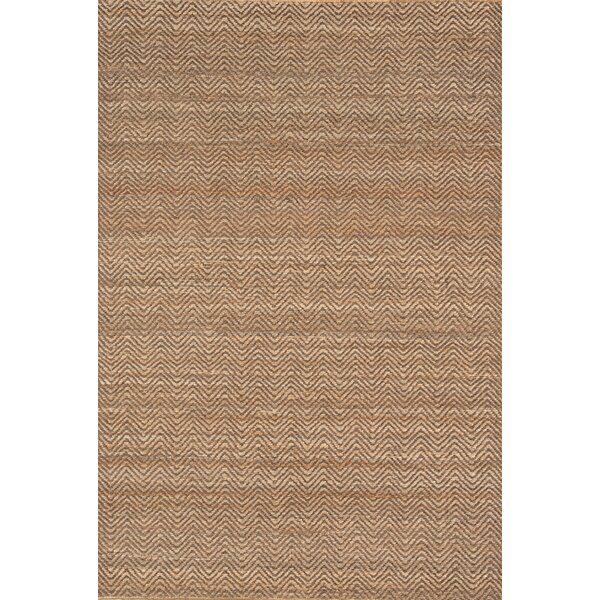 Hand-Woven Jute Natural Indoor Area Rug by Continental Rug Company