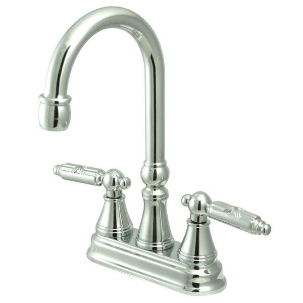 Georgian Double Handle Kitchen Faucet by Kingston Brass Kingston Brass