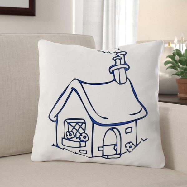 Detwiler House Throw Pillow