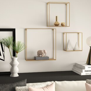 Welty 3 Piece Wall Shelf Set