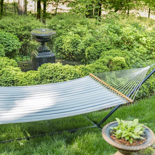 Edney Large Striped Quilted DuraCord Tree Hammock by Charlton Home