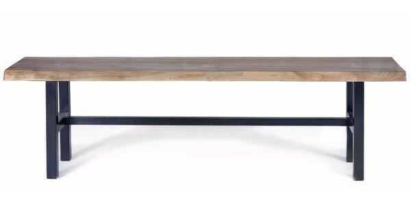 George Walnut Bench by Gingko Home Furnishings