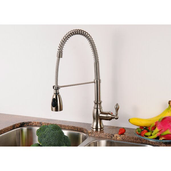 American Classic Pull Down Single Handle Kitchen Faucet by Kingston Brass